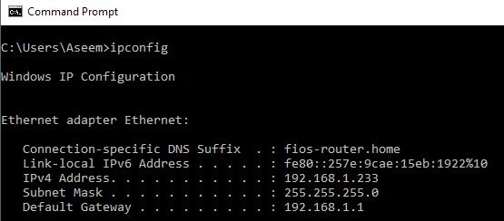 Windows TCP/IP Utilities – Netstat, Tracert, IPconfig, NSlookup
