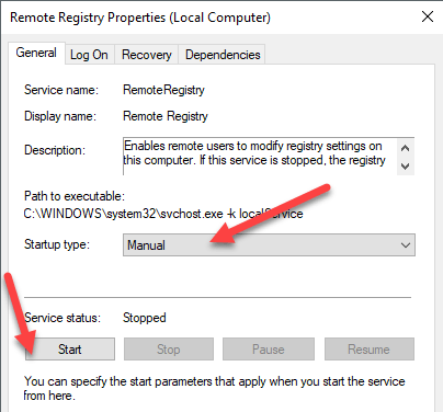 How to Connect to a Remote Registry in Windows 7 and 10