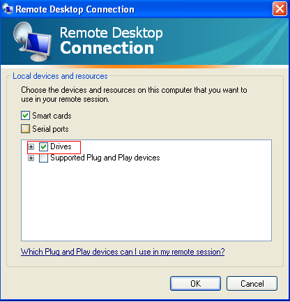 Accessing Local Files and Folders on Remote Desktop Session