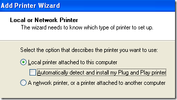 add networked printer