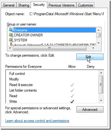 file security permissions