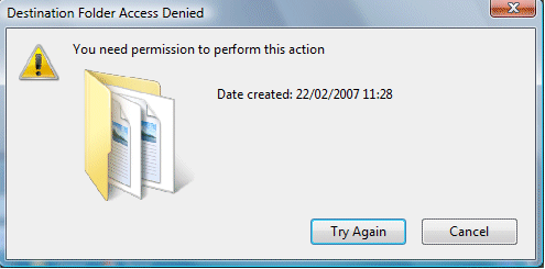 "Fix ""You need permission to perform this action"" Error"