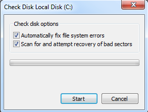 Fix File System Errors in Windows 7/8/10 with Check Disk