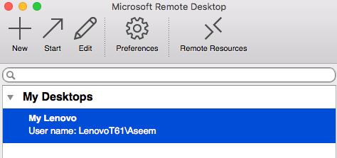 How to Control a Windows PC using Remote Desktop for Mac