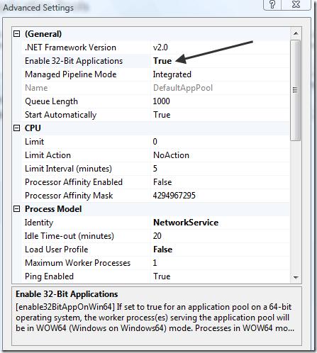 Calling LoadLibraryEx ISAPI filter failed