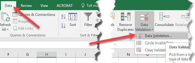 How to Create Multiple Linked Dropdown Lists in Excel