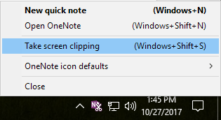 How to Take and Insert Screenshots using OneNote
