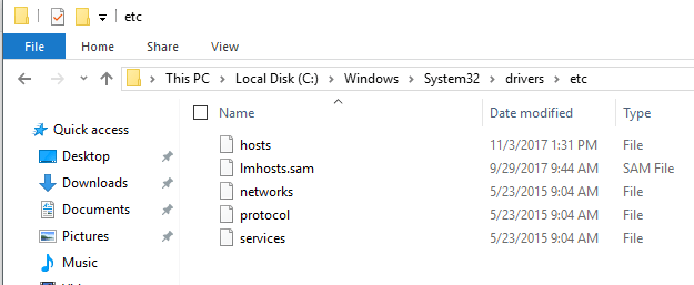 How to Add a Local DNS Lookup to Hosts File