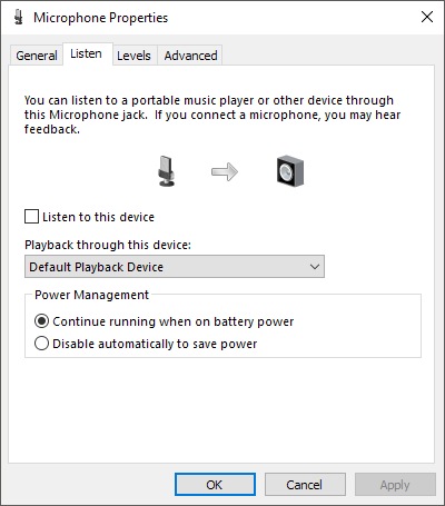 Enable Microphone, Line-In Audio, and Stereo Mix in Windows