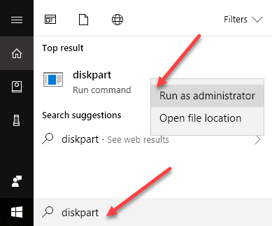 How to Use DiskPart Utility in Windows