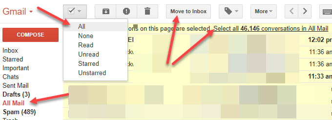 Export All Email from Gmail