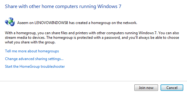 How to Configure a HomeGroup in Windows