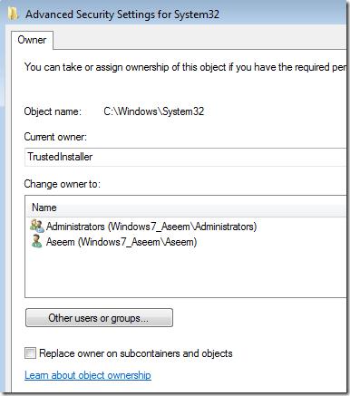 how to delete old windows folder trustedinstaller