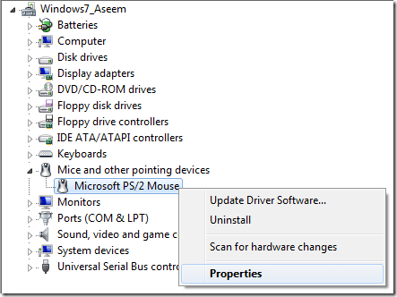 device manager windows 7