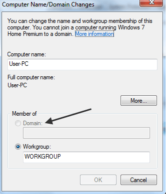 change computer name win 8.1