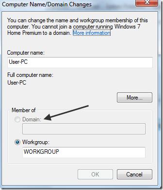 join domain windows 7