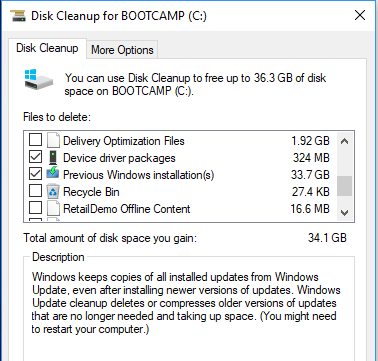 How to Delete the Windows old folder in Windows 7/8/10