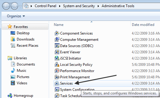 Fix wmpnetwk exe High CPU Usage in Windows