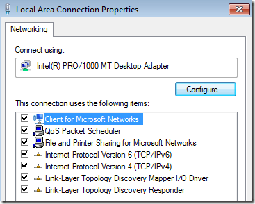 ipv6 windows 7
