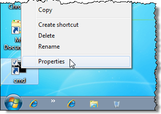 Create a Command Prompt Shortcut with Admin Rights in Windows
