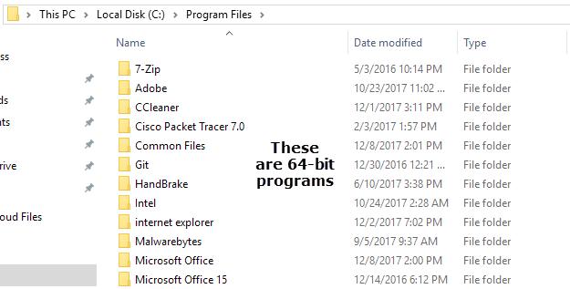 Why Does 64-bit Windows Need Two Program Files Folders?