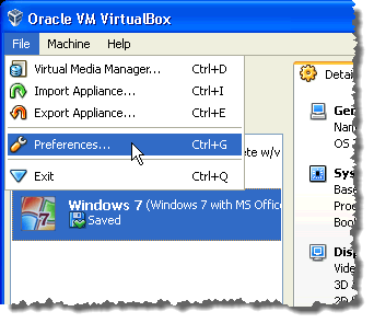 Change the Host Key in VirtualBox