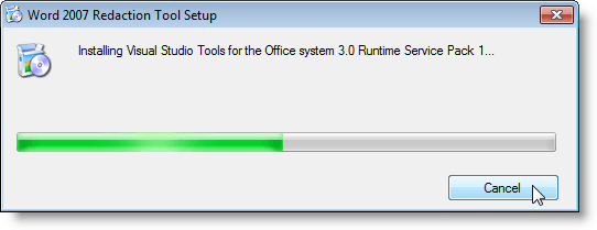 Installing Visual Studio Tools for Office