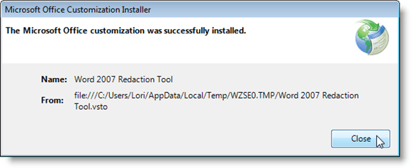 07_ms_office_customization_successfully_installed
