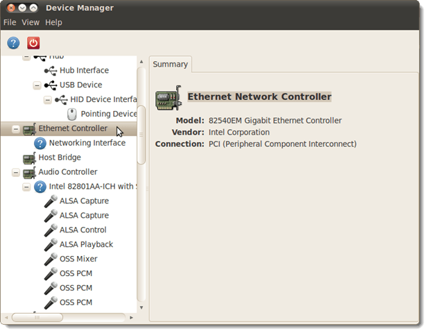 Easily View Hardware Information in Ubuntu 10 04