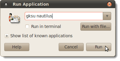 Open the Nautilus File Browser as Root in Ubuntu | CBT Bazar