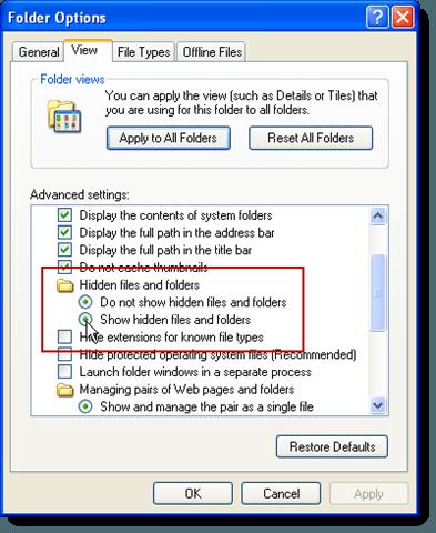 hide folder ext _setup.exe