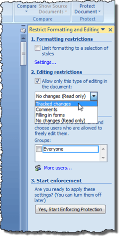 editing and formatting text in ms word 2007