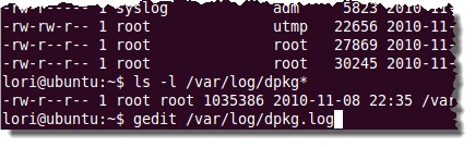 Display a List of Recently Installed Software Packages in Ubuntu