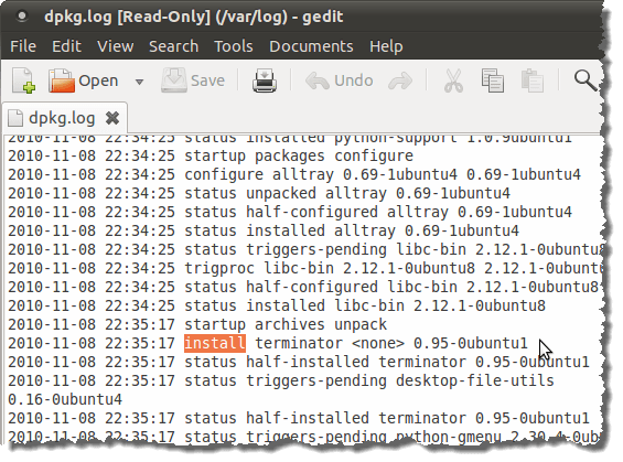 how to open bashrc file in gedit