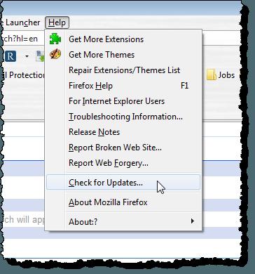 Update Apple's Safari Browser in Windows