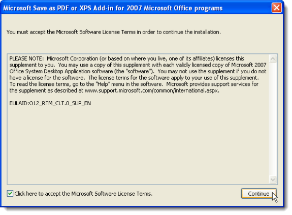 Xps add-in 2010 save as for pdf or office