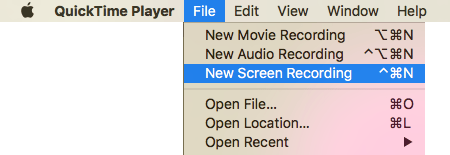 Capture, Save or Record Screenshots in Mac OS X