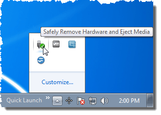 Create Keyboard Shortcut to Access Safely Remove Hardware Dialog