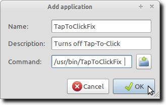 Add Application Window
