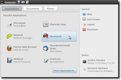 GNOME Main Menu Applet