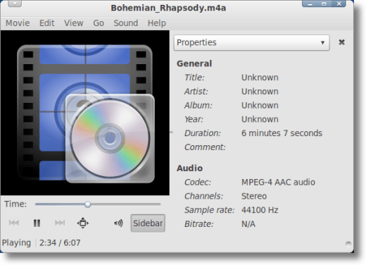 Play your new audio file