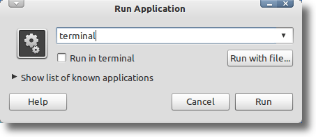 Run Dialog With Incorrect Name
