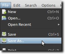 Save Script