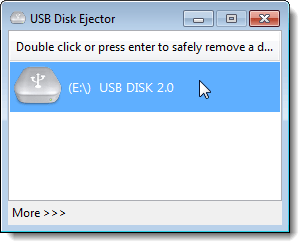 USB Disk Ejector GUI