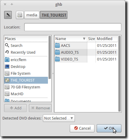 Select DVD