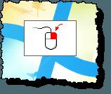 Active mouse button symbol