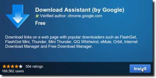 Download Assistant Web Page