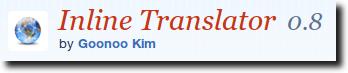 Inline Translator Website