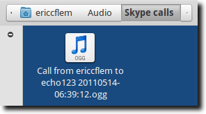 Recording From Skype