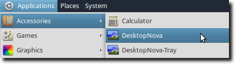 Open DesktopNova